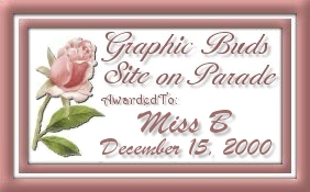 Graphic Buds Site on Parade