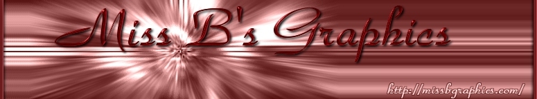 Miss B's Graphics Logo